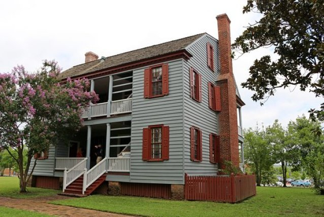 Things to Do in Augusta GA Ezekiel Harris House