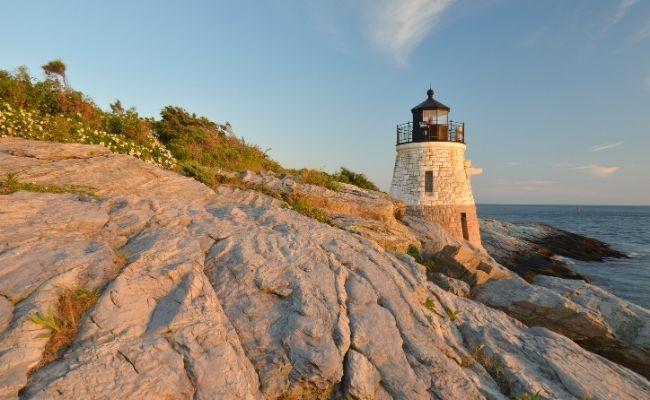 Castle Hill Lighthouse Newport RI