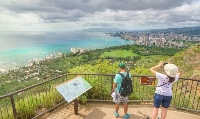 Diamond Head State Monument Honolulu HI