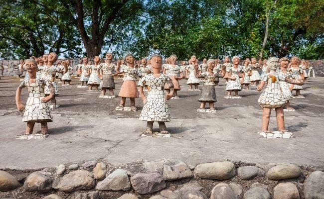 Nek Chand Saini Rock Garden of Chandigarh