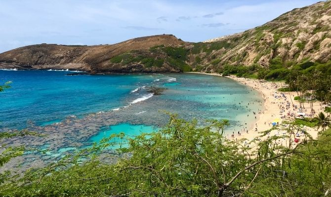 Hanauma Bay Nature Preserve Honolulu HI