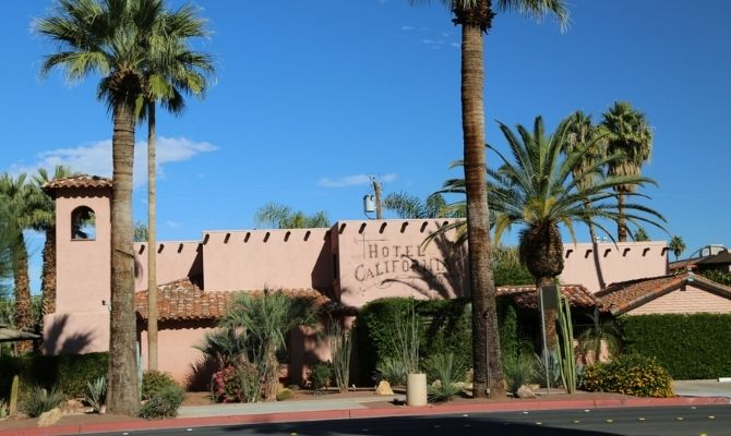 Where to stay in Palm Springs Hotel California