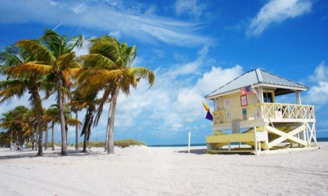 Key Biscayne and Crandon Park Miami FL