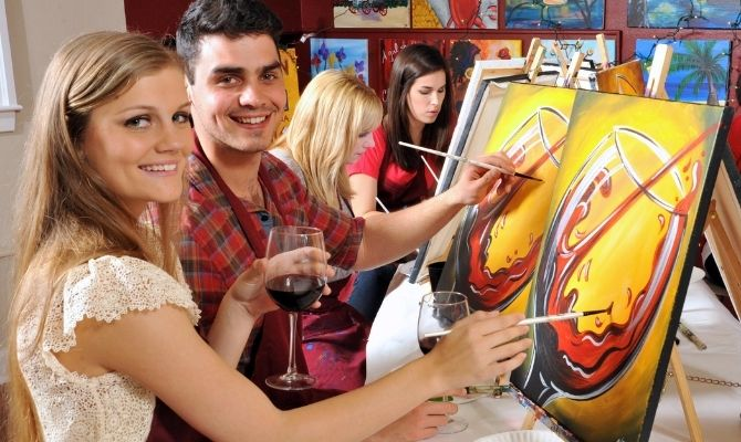 Painting With a Twist Miami Florida