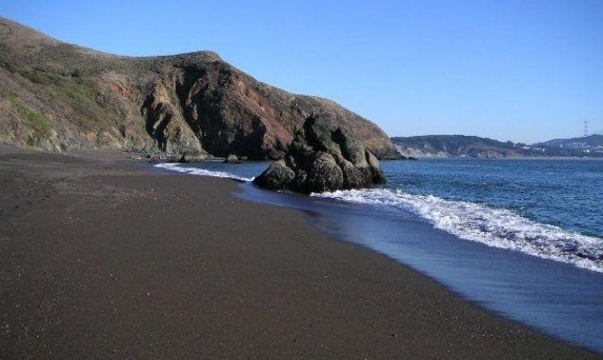 Black Sands Beach Northern California