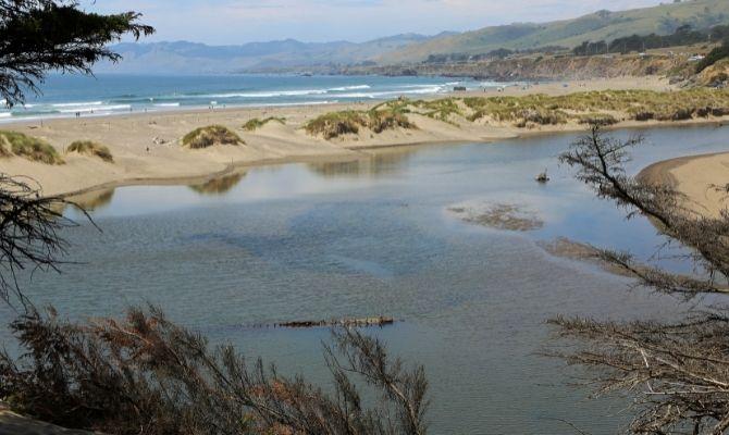 Northern Salmon Creek Beach California