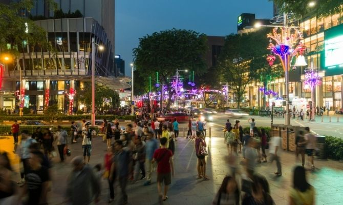 Orchard Road Area Singapore