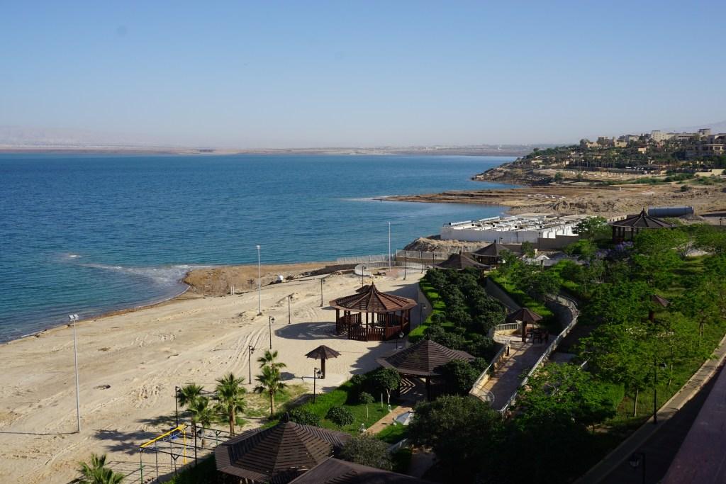 Dead Sea Beach Middle East