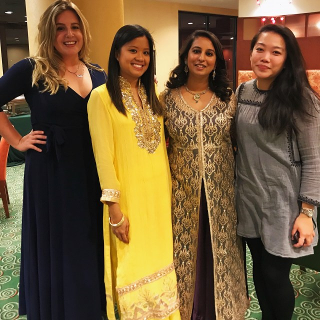 Went to my first Indian party tonight! Such beautiful outfitshellip