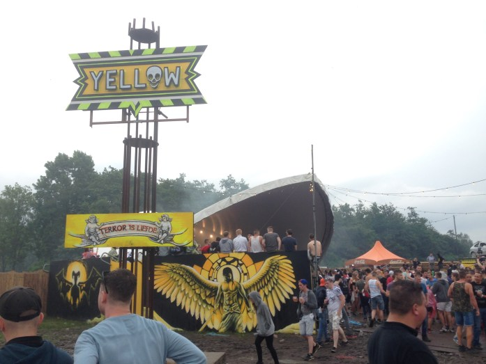 Defqon.1 Review - Terror/Frenchcore Stage Yellow