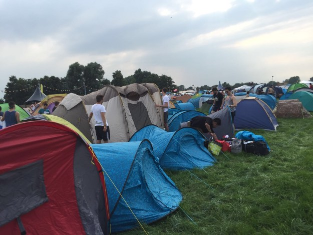 Tomorrowland Festival Review Dreamville camping grounds