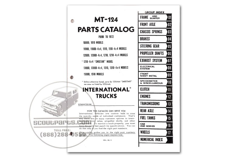 International Pickup & Travelall Parts.com