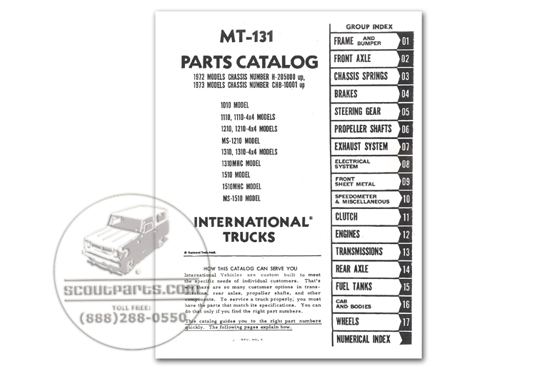 International Pickup & Travelall Parts.com