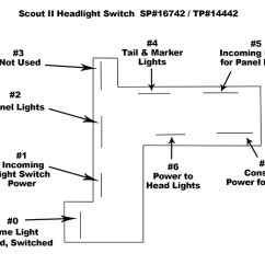 International Scout Ii Wiring Diagram For Car Amplifier And Subwoofer Pickup & Travelall Parts.com