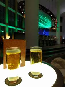 Beer in the Lobby Bar