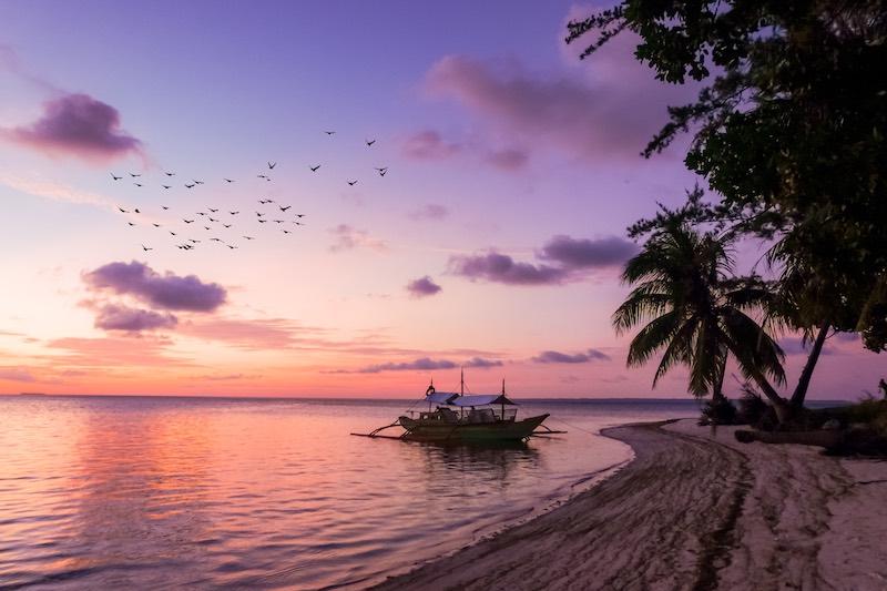 Sunset in Balabac Islands, Philippines