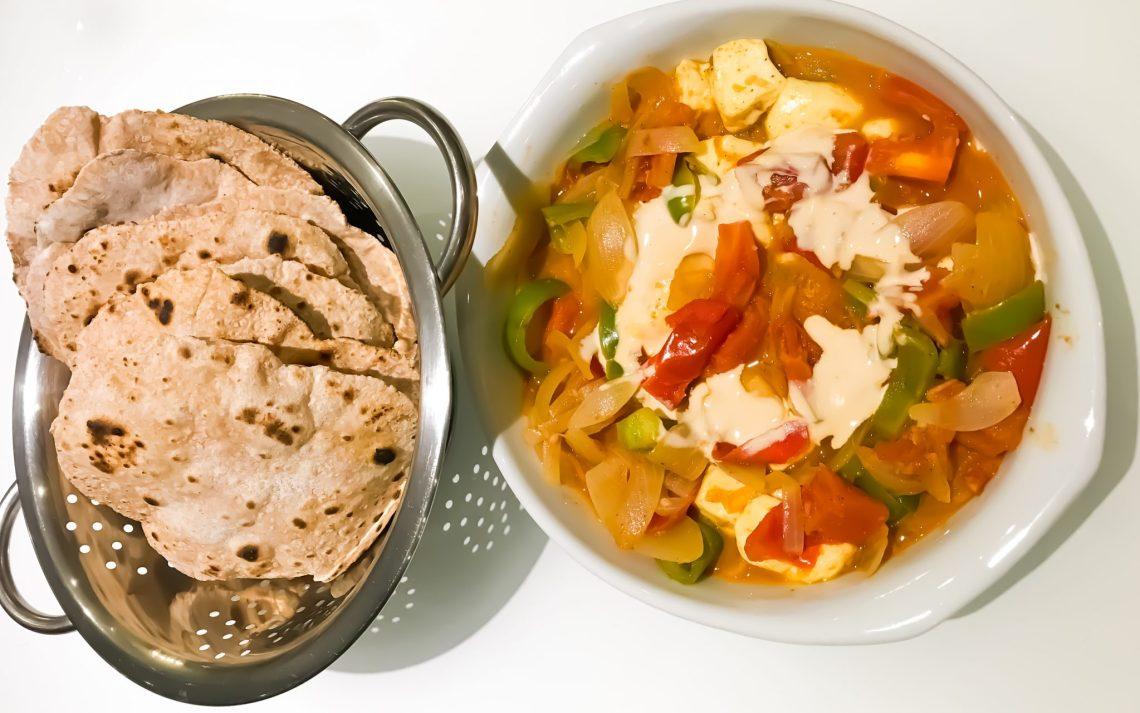 Kadhai Paneer recipe in Brazil