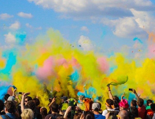 Festival of colors Holi