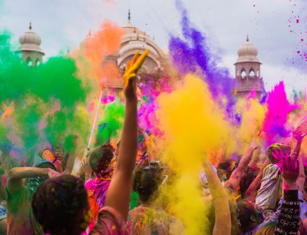Eco-friendly Holi
