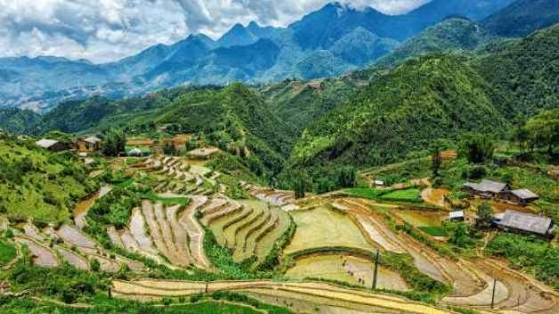 Mountainous region of Sapa