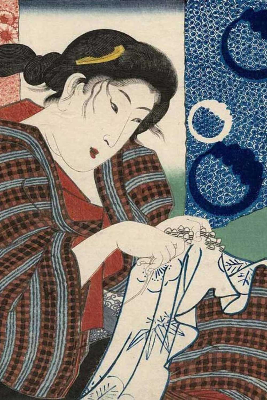Japanese Tie Dye- Art
