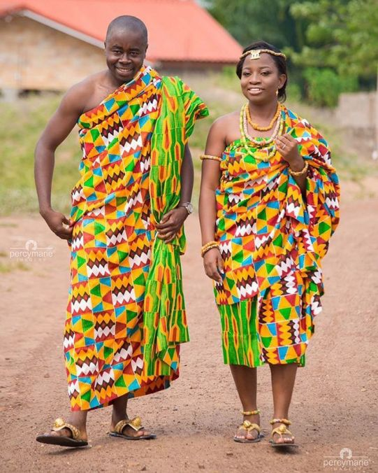 Traditional Ethnic Clothes of Ghana