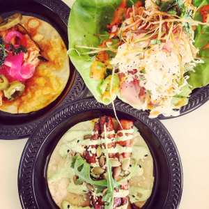 Three winning tacos from Dos Santos