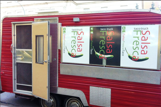 Salsa fresco food truck Regina