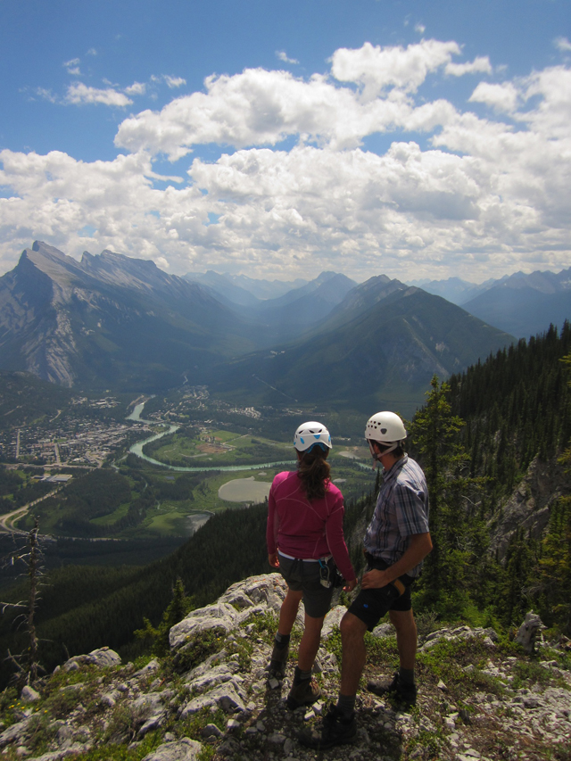 Via Ferrata Mount Norquay