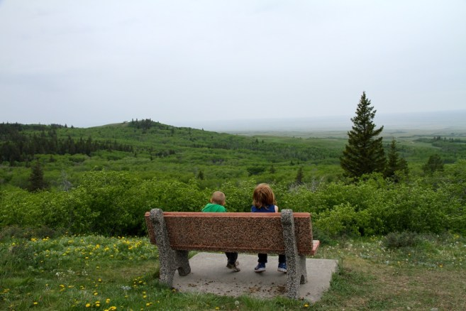 Boys at Cypress Hills Saskatchewan