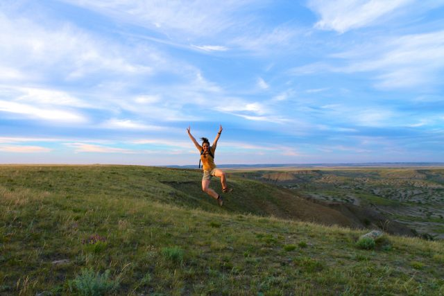 Jenn Smith Nelson Grasslands National Park