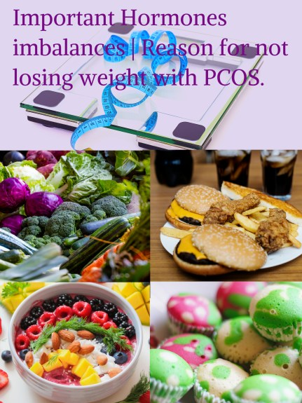 Reason for not losing weight with PCOS. Important Hormones Imbalances-