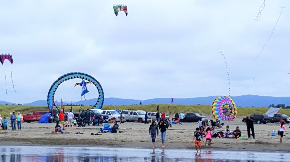 Washington State International Kite Festival , Long Beach WA