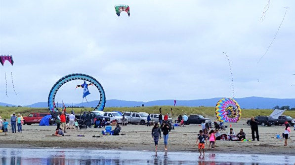 Visit to Long Beach, WA for International Kite festival