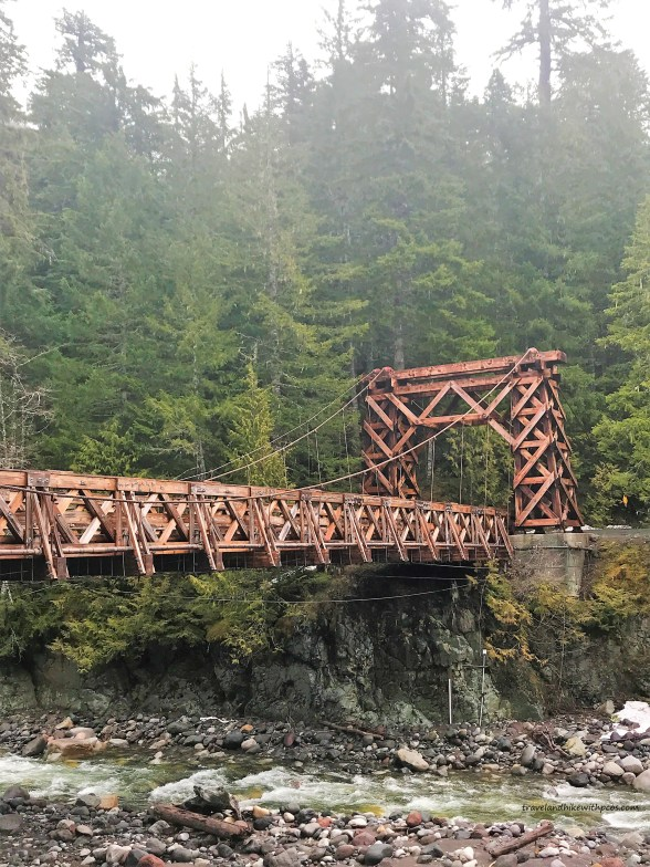 Oldest Surviving Suspension Bridge of NPS at Nisqually River