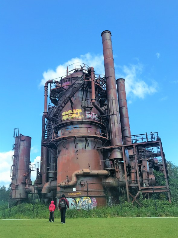 Metal Remnants at Gas Works Park, Strangest Park in Seattle, Must visit places in Seattle, Free Public Park