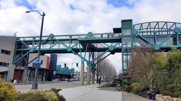 Bell Street Harbor Pier Walking Bridge  Must Visit  Attractions in Seattle Washington