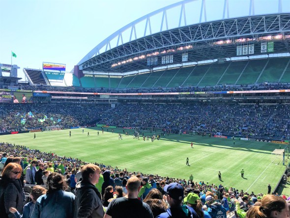 Cheers for Seattle Sounders Century Link Stadium Must Visit  Attractions in Seattle Washington