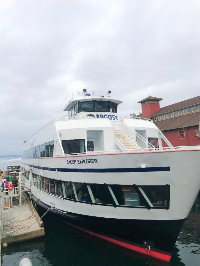 Argosy Cruise Tillicum Excursion