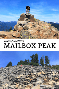 HIking MailBox Peak New trail