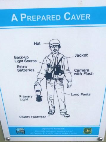 Prepared Caver