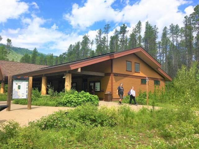 Apgar Visitor Center Glacier National Park