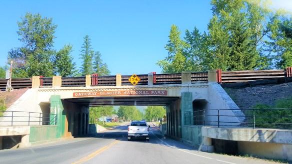 Under Bridge just before West Glacier Village