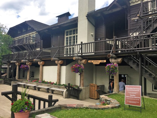 Lake McDonald Lodge. Things to do at Glacier National Park