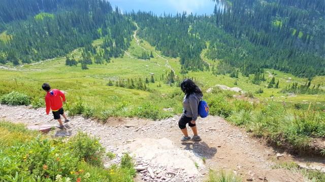 Hike to Hidden Lake