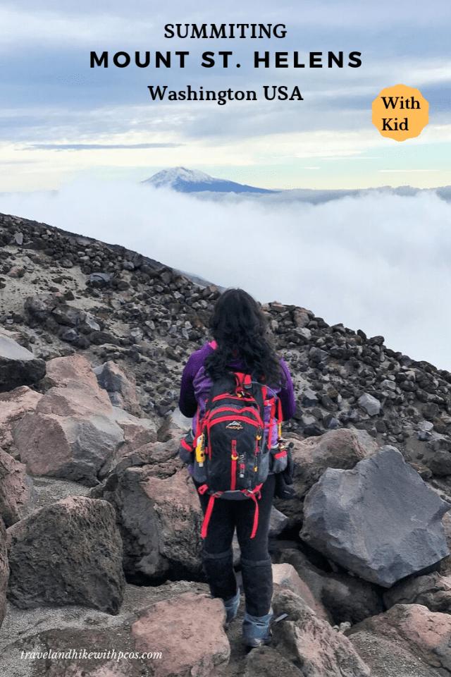 Mount St.. Helens Summit Washington USA