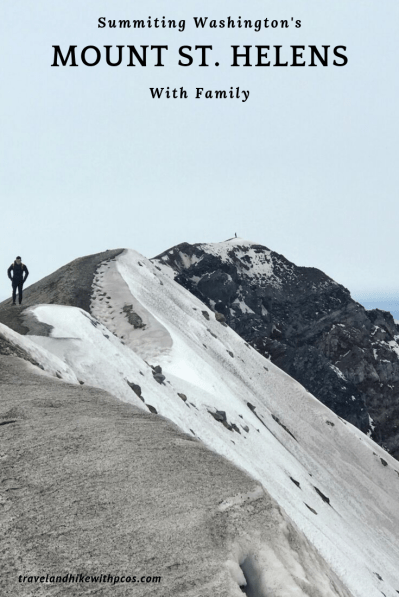 Mount St. Helens Summit Hiking with Family