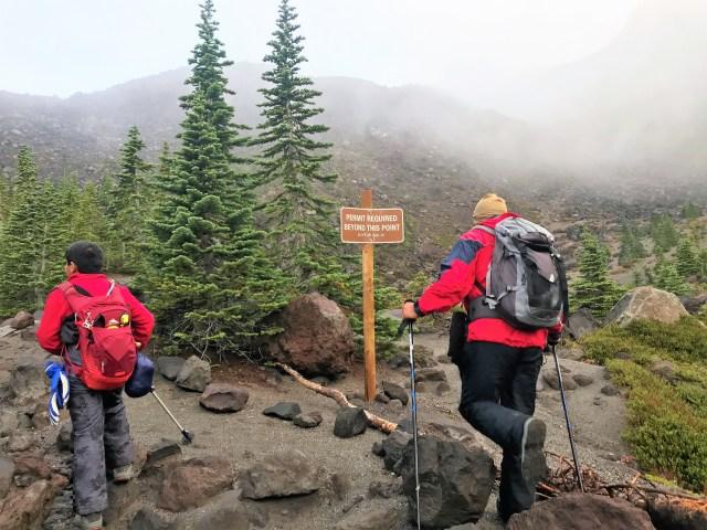 Mount St. Helens Summit Climb with Kid
