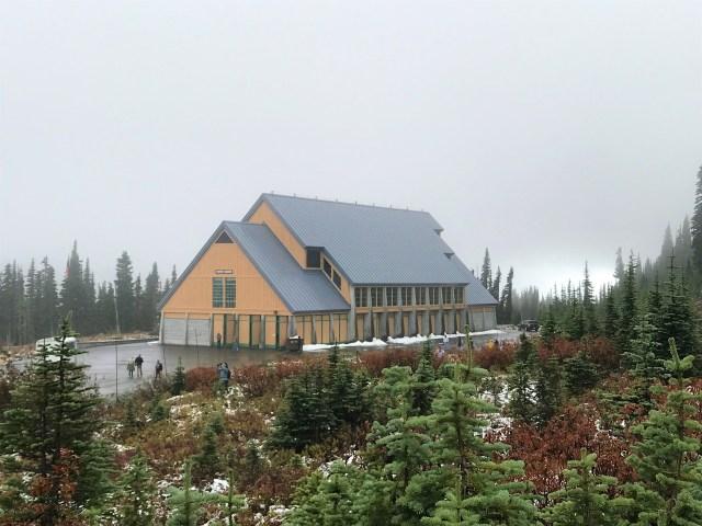 Henry M Jackson Visitor Center Paradise Mount Rainier National Park