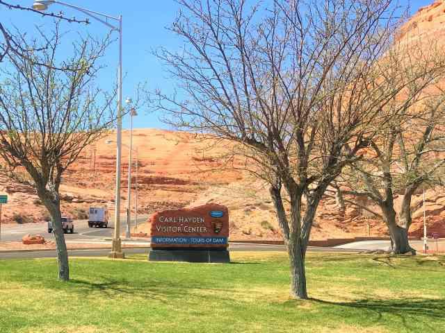 Carl Hayden Visitor Center Glen Canyon Dam